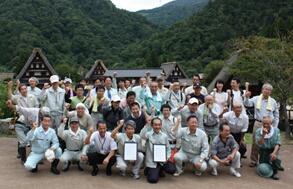 NEXCO中日本とのCSR協定調印式(H24年9月)